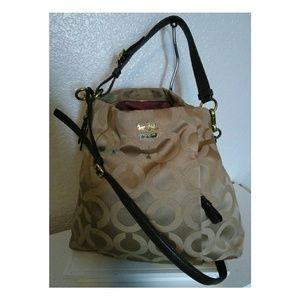 👜 Coach Madison OP Art Signature Crossbody Bag